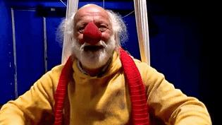 Le clown russe Slava Polouline a reçu une équipe de France 2 dans son moulin jaune à Crécy-la-Chapelle (Seine-et-Marne)  (France2/culturebox)