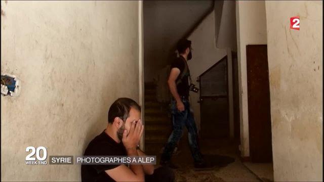 Syrie : journalistes à Alep