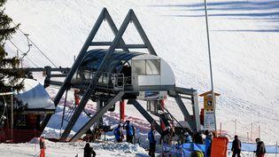 Illustration station de ski. (GREGORY YETCHMENIZA / MAXPPP)