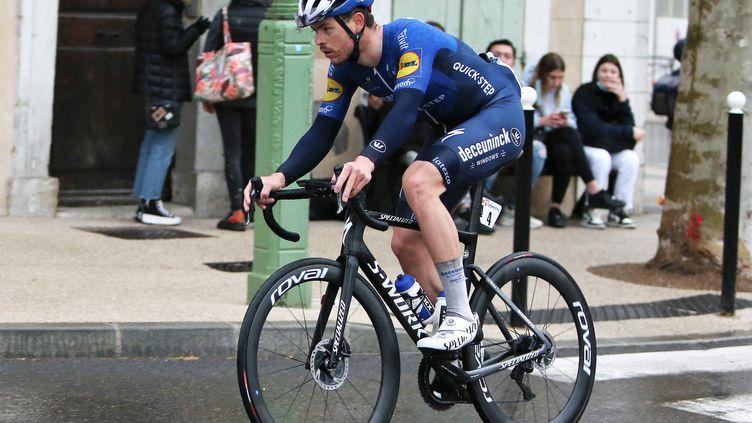 Rémi Cavagna a remporté son premier titre de champion de France sur route. (LAURENT LAIRYS / LAURENT LAIRYS)