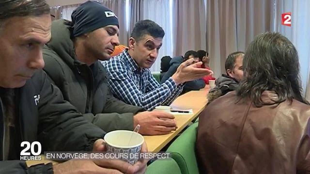 Norvège : des cours de respect pour les réfugiés