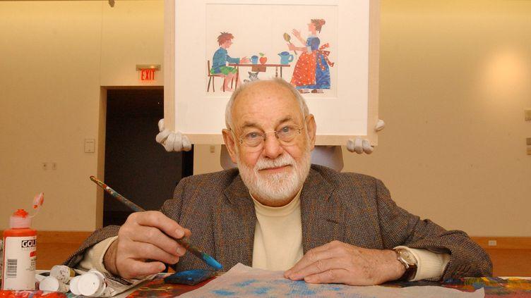 L'illustrateur et auteur Eric Carle, en 2012. (BOSTON GLOBE / BOSTON GLOBE)