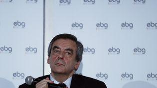 Le candidat Les Républicain François Fillon, le 31 janvier, à Paris. (THOMAS SAMSON / AFP)