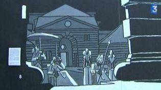 Damien Cabiron inspiré par la Saline d'Arc-et-Senans pour sa nouvelle BD  (Culturebox)