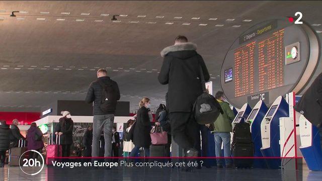Covid-19 : de nouvelles mesures pour les voyages en Europe