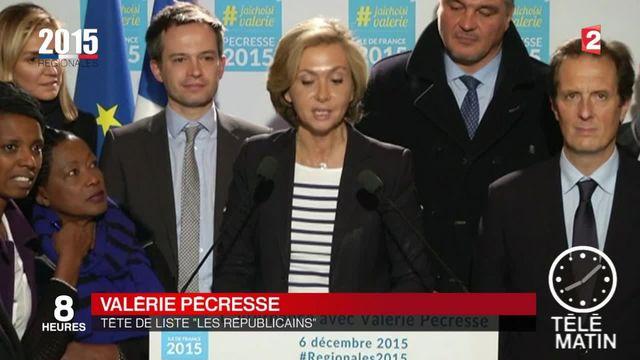 Pécresse (LR) en tête en Ile-de-France, le PS garde espoir