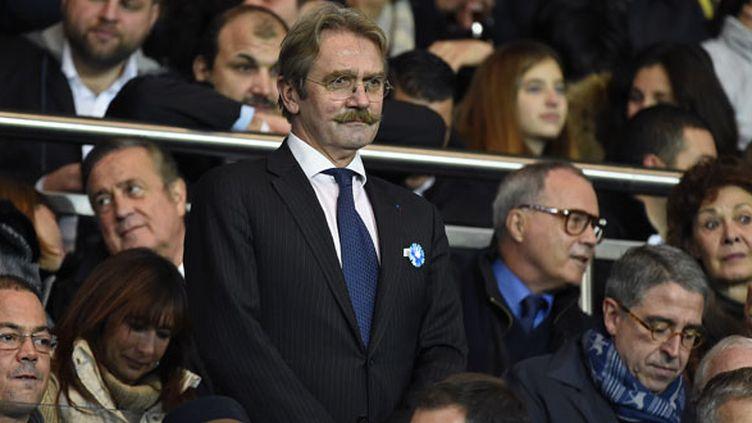 Le président de la Ligue professionnelle de football, Frédéric Thiriez