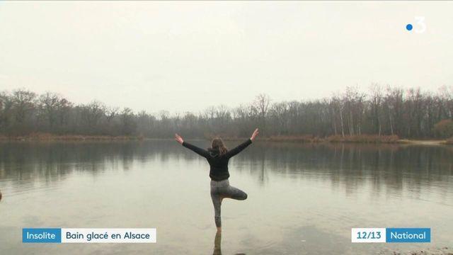 Insolite : les baigneurs alsaciens du grand froid