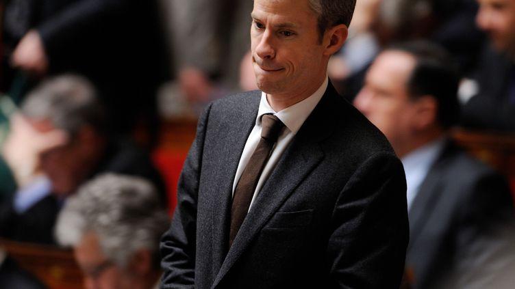 Franck Riester à l'Assemblée nationale pendant les questions au gouvernement le 5 février 2013. (WITT/SIPA)
