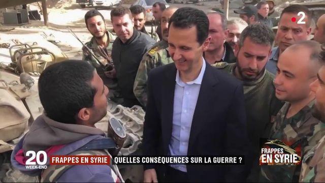 Frappes en Syrie : quelles conséquences sur la guerre ?