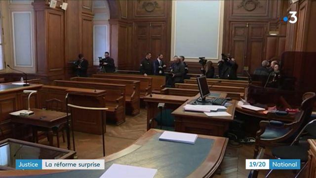 Justice : un tribunal criminel départemental pour alléger les cours d'assises