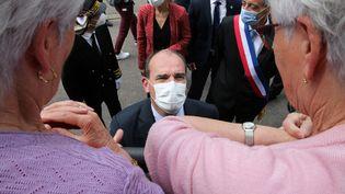 Le Premier ministre Jean Castex à Saint-Dizier (Haute-Marne), le 26 juillet 2021. (FRANCOIS NASCIMBENI / AFP)