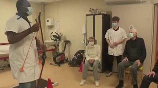 Covid-19 : le soulagement des premiers seniors vaccinés  (France 2)