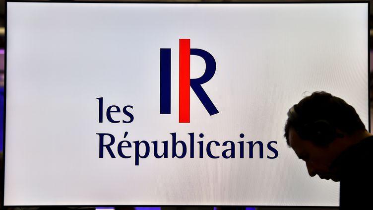 Le logo des Républicains, le 8 juin 2016. (PHILIPPE HUGUEN / AFP)