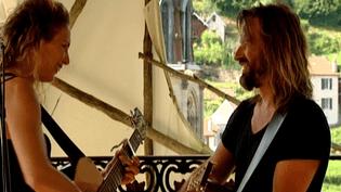 """Michaëla et David, le duo à la ville comme à la scène de """"Fergessen""""  (France 3 / Culturebox)"""