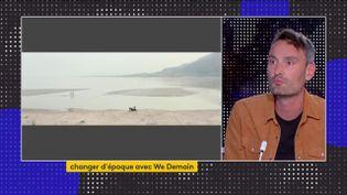 Le journaliste Antoine Lannuzel évoque le fleuve Jaune en péril en Chine (FRANCEINFO)