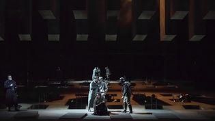 """Ekaterina Semenchuk (Azucena) dans """"Le Trouvère"""" de Verdi à l'Opéra Bastille.  (Charles Duprat/Opéra national de Paris)"""