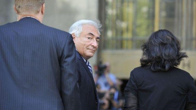 Dominique Strauss-Kahn, le 23 août 2011 à New York. (AFP - Mladen Antonov)