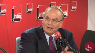 Jean-Louis Bourlanges, député MoDem des Hauts-de-Seine est l'invité du grand entretien à 8h20, mardi 15 octobre, sur France Inter. (FRANCEINTER)