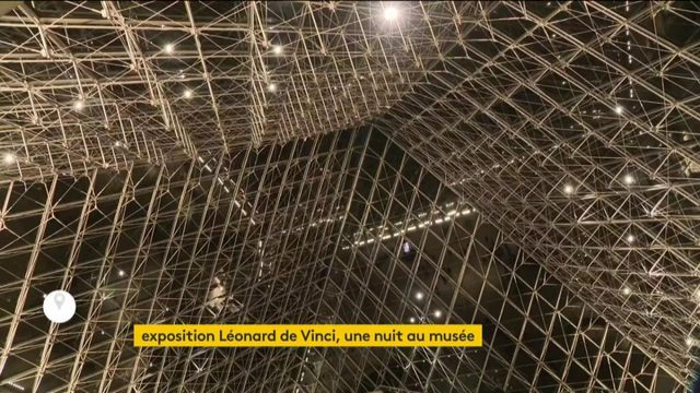 Plongée nocturne au Louvre avec Leonard de Vinci