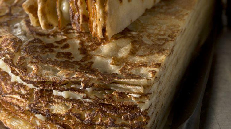Gâteau de crêpes (FRANCE INFO - LA MARTINIERE / MATHILDE DE L'ECOTAIS)