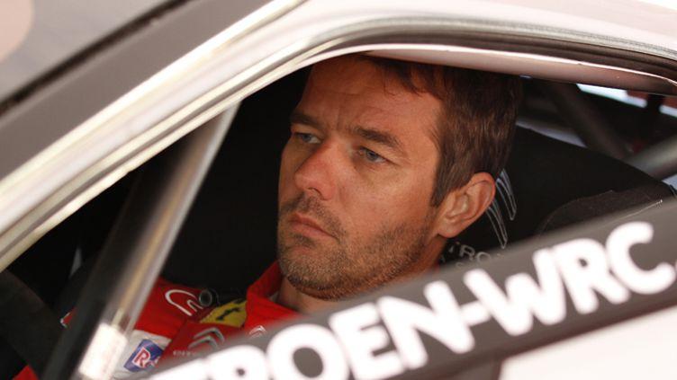 Sébastien Loeb fait la course en tête sur les routes du Rallye d'Allemagne.