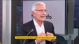 Guillaume Pepy (Initiative France) était l'invité éco du mardi 2 février 2021. (FRANCEINFO / RADIOFRANCE)