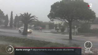Des pluies dans l'Hérault. (France 2)