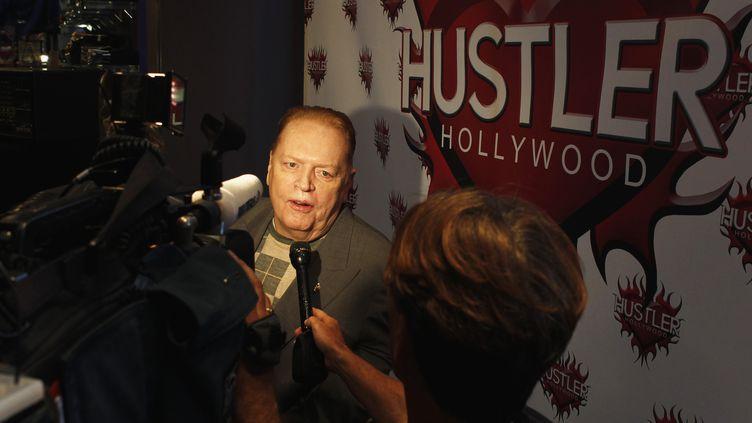 Larry Flynt arrive à une cérémonie en l'honneur de producteurs de films pour adultes, le 22 mars 2012, à Los Angeles (Californie, Etats-Unis). (FRED PROUSER / REUTERS )