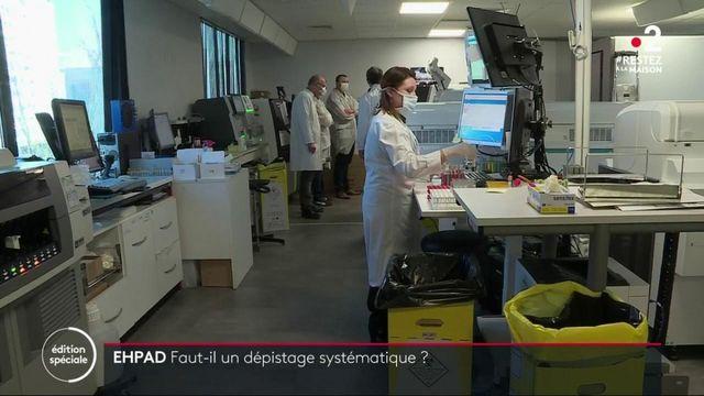 Coronavirus : certains Ehpad testent soignants et résidents