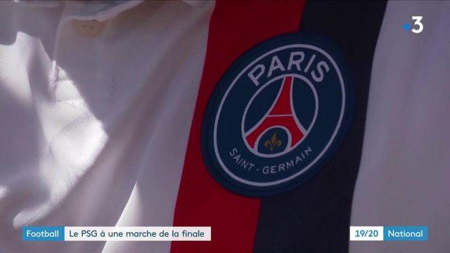 Football : le PSG à une marche de la finale