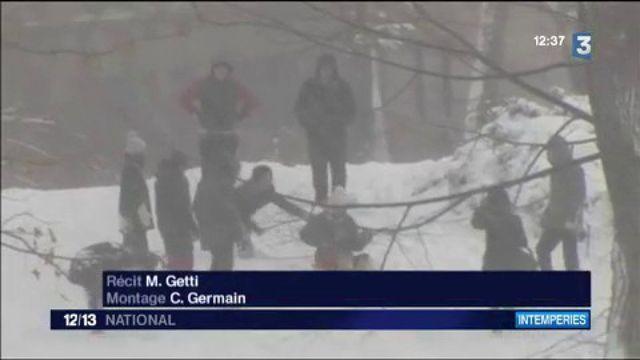 New York : impressionnante tempête de neige dans la ville