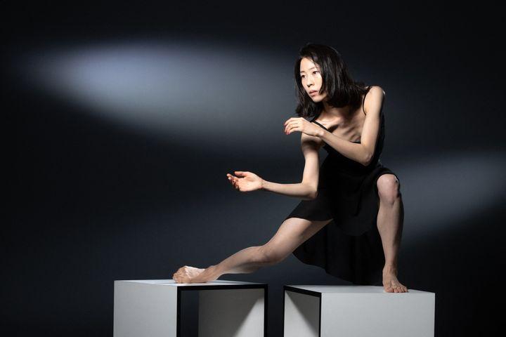 Sae-Eun Park, premiere danseuse au ballet de l'Opéra de Paris, le 14 septembre 2019 (JOEL SAGET / AFP)