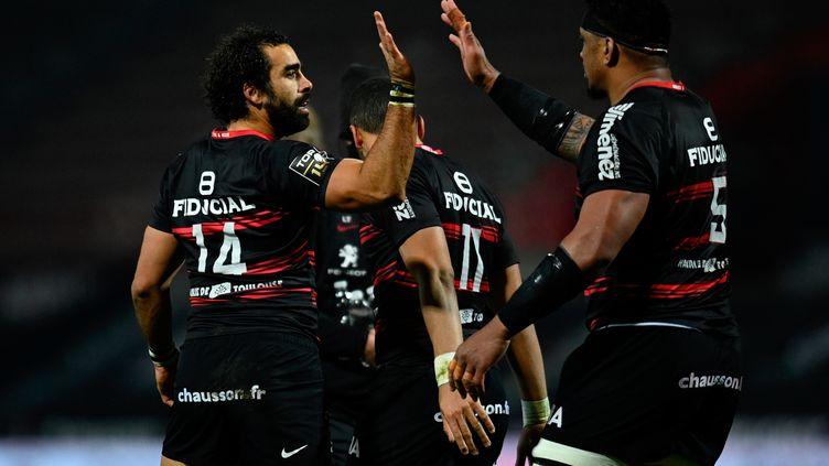 Toulouse a battu le Stade Français dimanche soir (LIONEL BONAVENTURE / AFP)