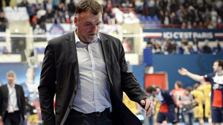Philippe Gardent, l'entraîneur du PSG handball