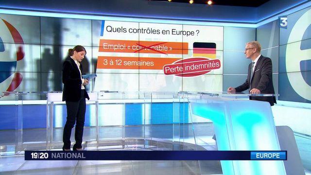 Chômage : quels contrôles en Europe ?