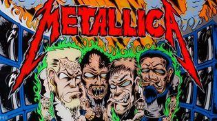 Grrrr ! Le flipper Metallica vous en faire voir de toutes les couleurs.  (Stern Pinball Inc.)