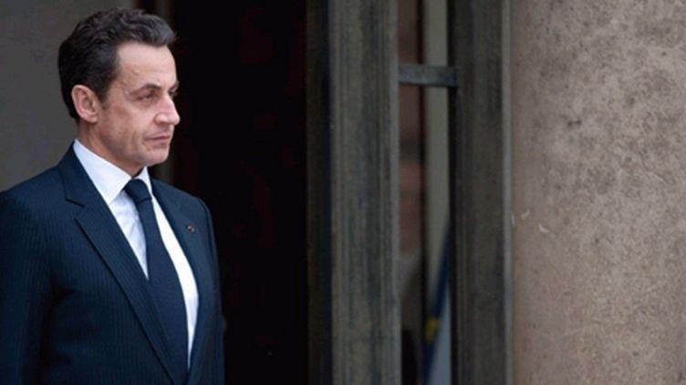 Nicolas Sarkozy s'exprimera à la télévision jeudi (AFP - MARTIN BUREAU)