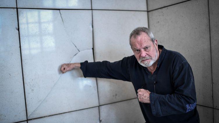 Le réalisateur Terry Gilliam, le 13 mars 2018, à l'Opéra Bastille, à Paris. (STEPHANE DE SAKUTIN / AFP)