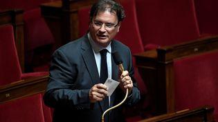Philippe Gosselin, député Les Républicains de la Manche, le 17 juin 2020 à l'Assemblée nationale à Paris. (STEPHANE DE SAKUTIN / AFP)