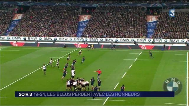 Rugby : les Blacks étaient trop forts pour les Bleus