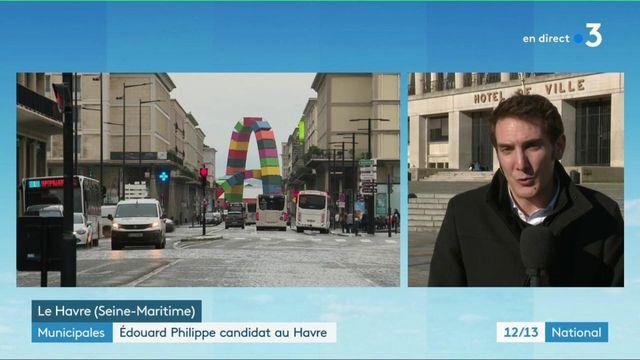 Municipales : Édouard Philippe candidat au Havre