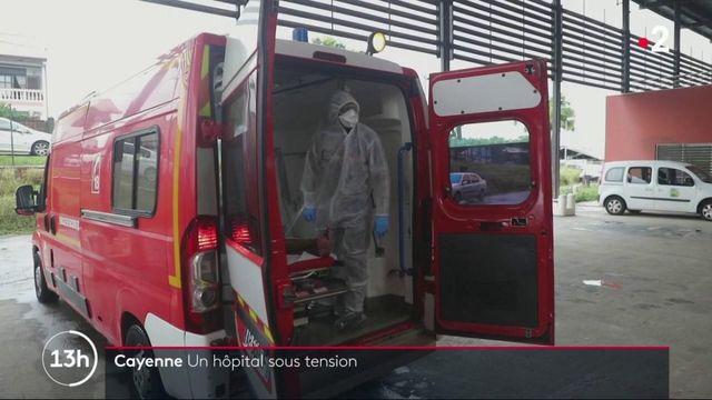 Guyane : Cayenne, un hôpital sous tension, en pleine épidémie de coronavirus