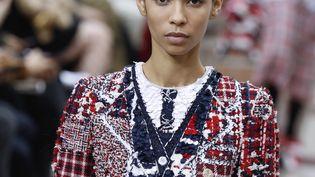 Défilé Thom Browne automne-hiver 2019-20 lors de la Paris Fashion Week, le 3 mars 2019 (FRANCOIS GUILLOT / AFP)