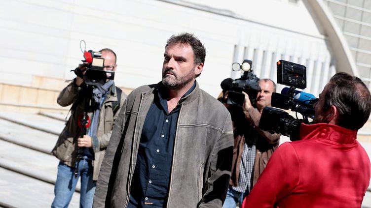 L'anesthésiste Frédéric Péchier, mis en examen pour 17 nouveaux cas d'empoisonnements, a été placé sous contrôle judiciaire dans la nuit du 16 au 17 mai 2019. (MAXPPP)