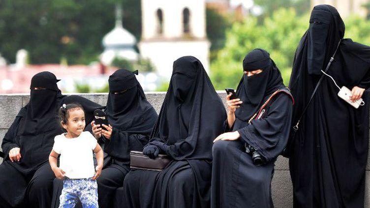 Des femmes en niqab à Tbilissi en Géorgie, en août 2016. (Vano Shlamov)
