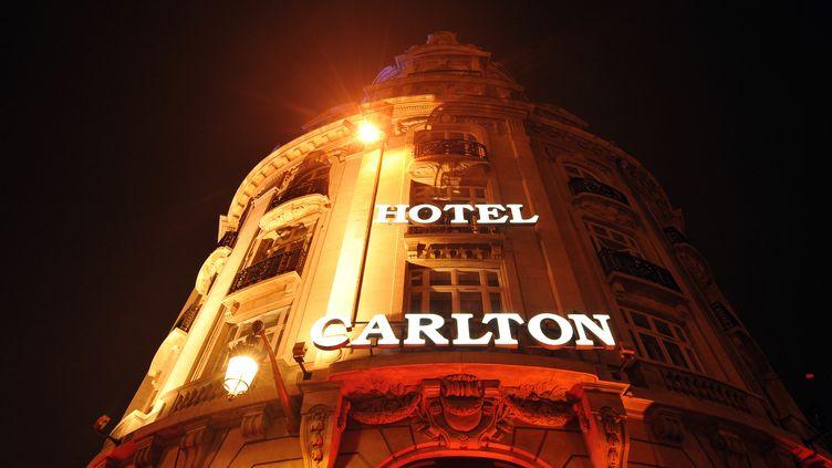 L'hôtel Carlton à Lille, le 17 octobre. (PHILIPPE HUGUEN/AFP)