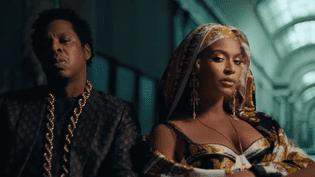 Beyonce et Jay-Z dans le clip Apeshit, tourné au Musée du Louvre