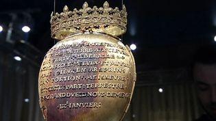 Le reliquaire de l'ancienne reine Anne de Bretagne a été dérobé ce week-end, à Nantes(Loire-Atlantique), au musée Dobrée. (France 3)