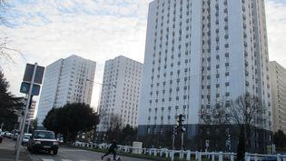 Des immeubles d'un quartier de Bobigny (Seine-Saint-Denis), photographiés le 14 février 2017. (NADINE BENEDIX / DPA / AFP)